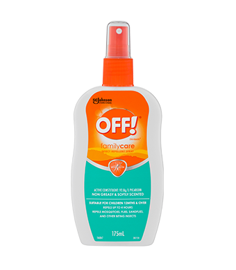 OFF!® FamilyCare Insect Repellent Spray