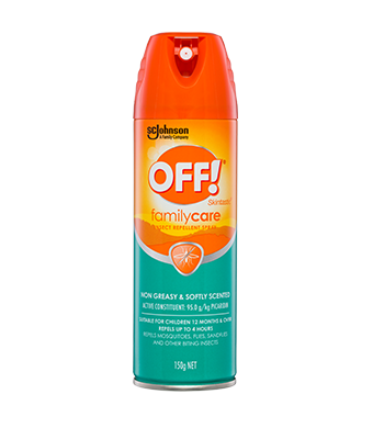 OFF!® FamilyCare Insect Repellent Aerosol